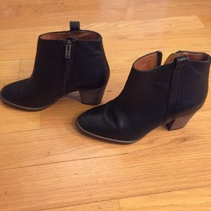 Madewell Shoes - Madewell Black Billie Boots Size 5